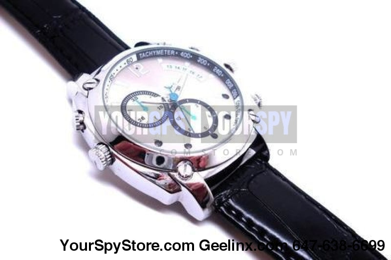 Spy Watch Camera 1080P Hd Ir Night Vision 32Gb Memory