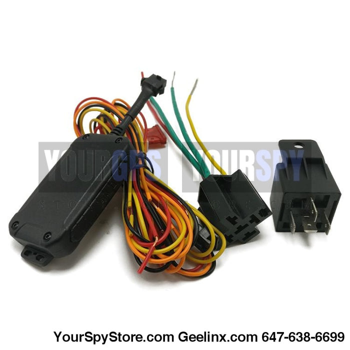 Hardwired Gps Tracker Real Time Fleets Trucks Rentals Compact Size & Built In Battery