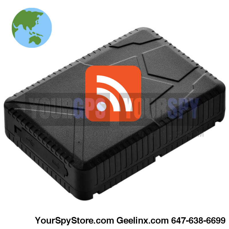 Glinx Star Plus Series New | Magnetic Gps Tracker 2 Weeks Battery Real Time Waterproof Portable