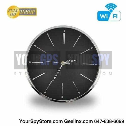 Clock Camera - HD 1080P Wi-Fi Wall Clock Security Camera