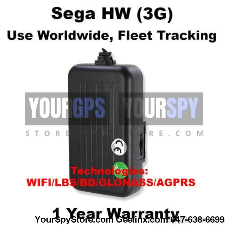 New WIFI SEGA HW - Hardwired Real Time GPS Tracker