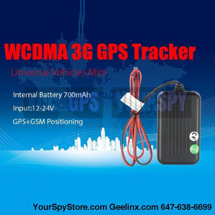 GPS Tracker - New SEGA HW - 3G Hardwired Real Time GPS Tracker Car Truck Vehicle Fleet Tracking Device Worldwide Use Anti Theft Multi-Functional Built-in Battery & Antenna IPX7 Resistant