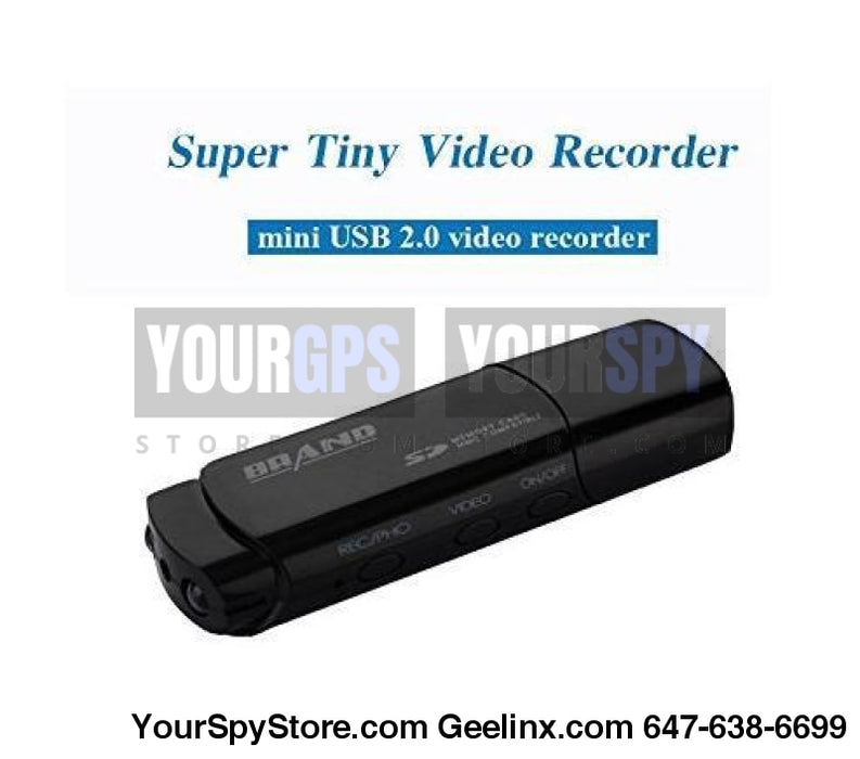 Hidden Camera - SPY USB HD Camcorder Motion Detection IR Night Vision Camera/Voice Recorder