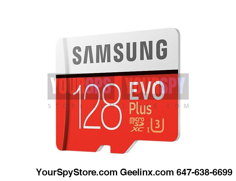 Memory Cards - 128GB EVO Plus Micro SD Card 95 MBs (SD Adapter)