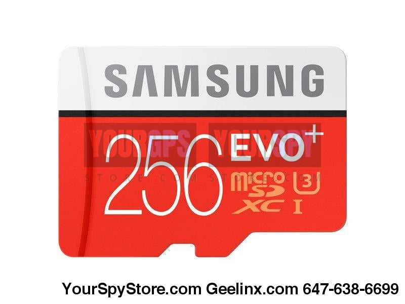 Memory Cards - 256GB Micro SDXC EVO+ Memory Card W/ Adapter