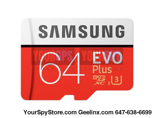 Memory Cards - 64GB EVO Plus Micro SD Card 95 MBs (SD Adapter)
