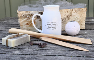 wedding gift servers rustic home decor rustic gourmet rustic gift basket realtor closing gift real estate client gift personalized host personalized gift new house new home housewarming gift new home gift new home mug gift basket mug