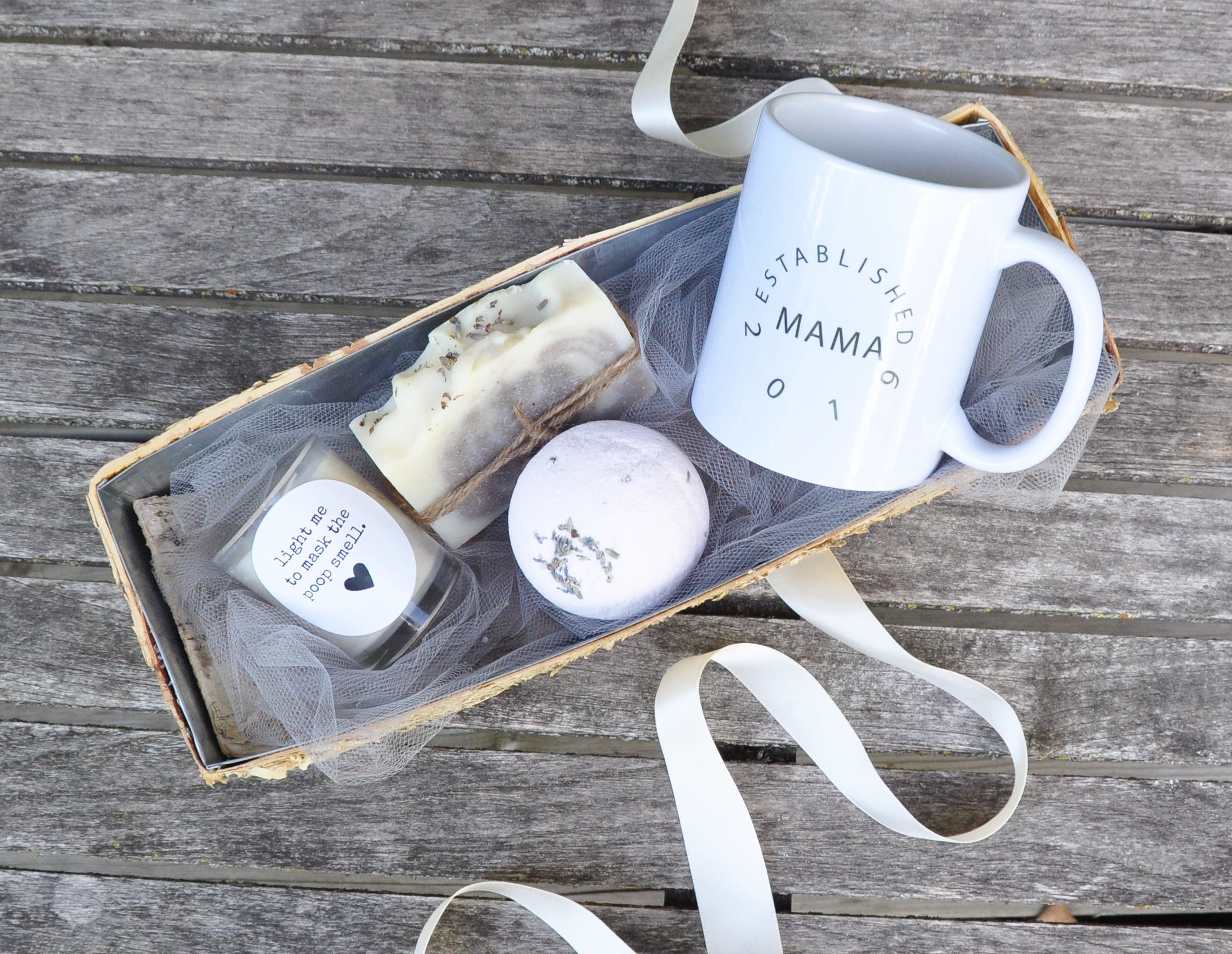 New Mom Gift Basket Baby Shower Gift First Mothers Day Gift Inkt And Co