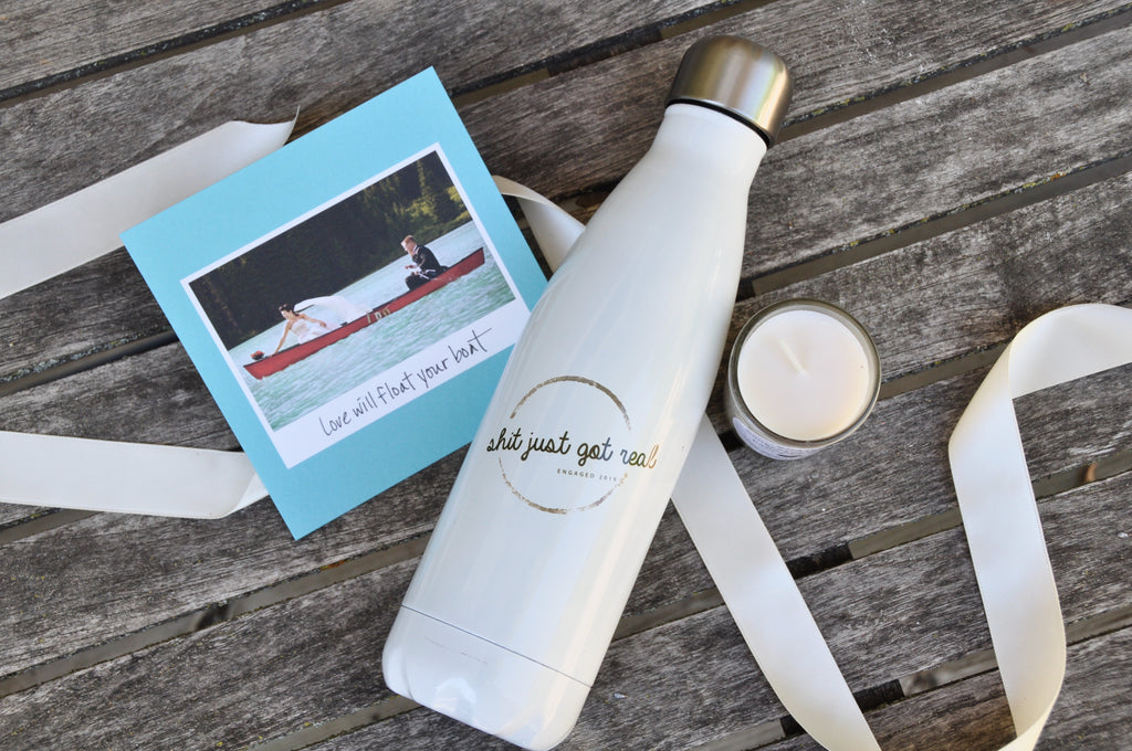 engagement gift for the bride wedding gift wedding bride and groom wedding the wedding present personalized water bottle personalized gift newly engaged gift gift for couple gift for bride to be gift for bride gift basket engagement gift basket engagement gift
