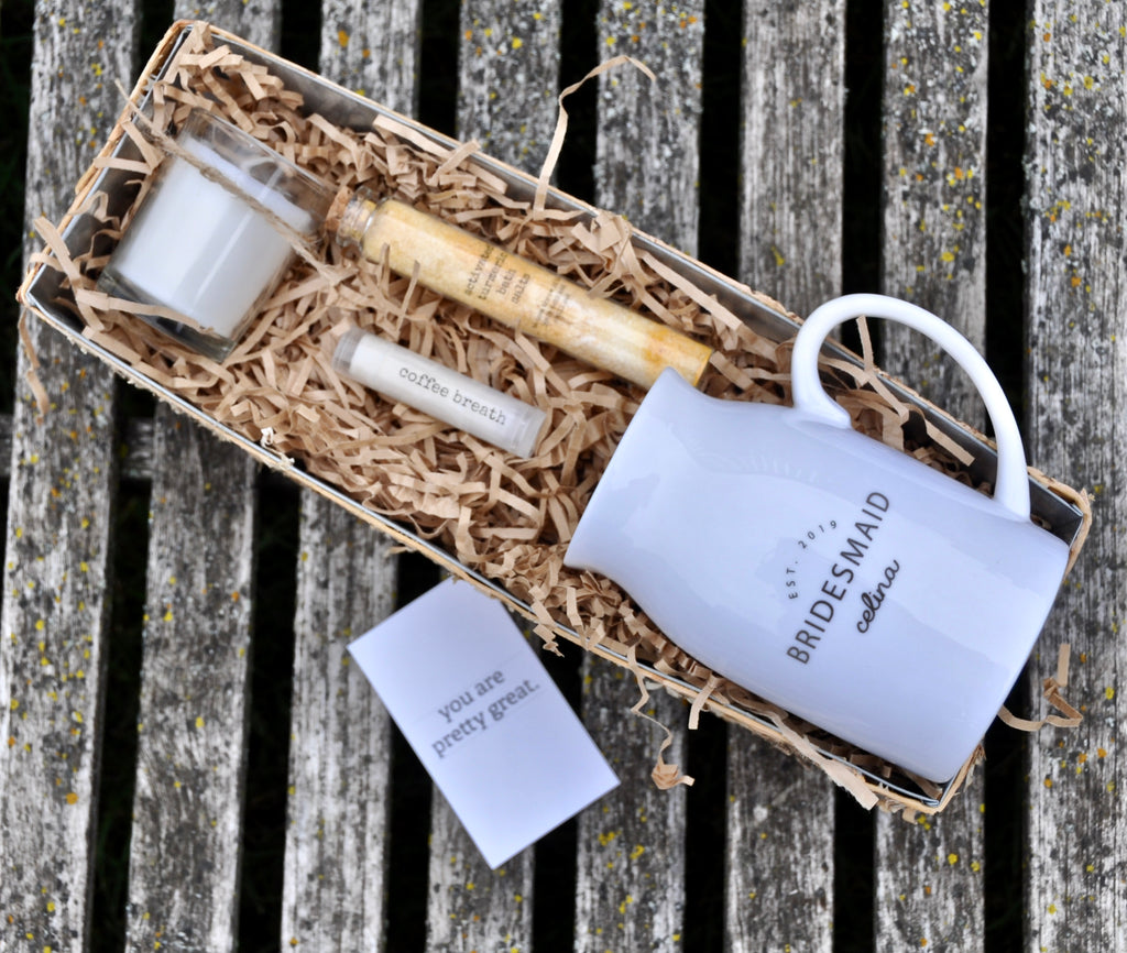 Bridesmaid Gift Boxes Inkt And Co