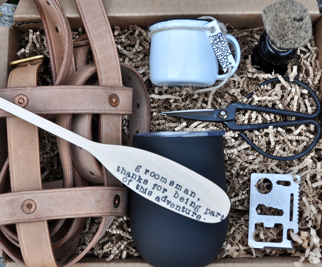 Outdoorsy Groomsmen Gift Box