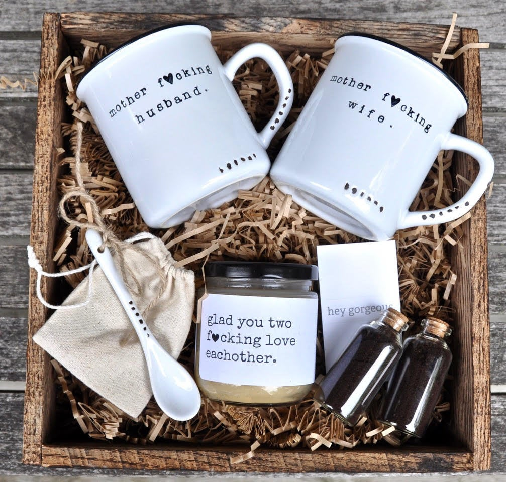 Unique wedding gift for couple