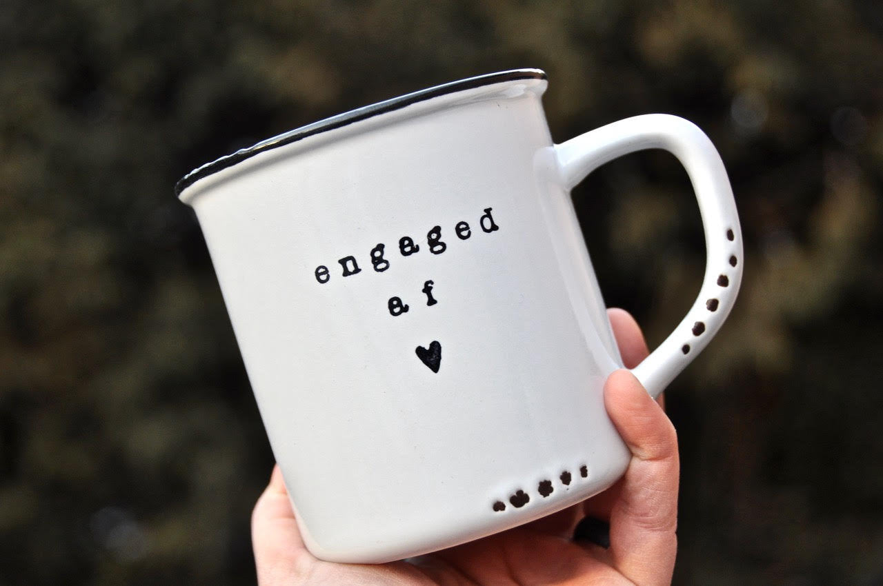 Best friend engagement gift