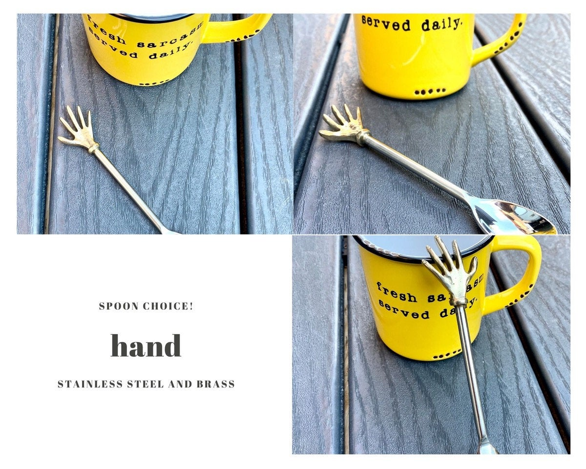 "Spoon Choices!  Do NOT purchase this listing!  PUT ""cheers"" or ""hand"" or ""bird"" in the notes to seller on YOUR order!"