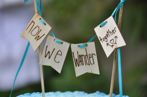 rustic wedding cake toppers canada