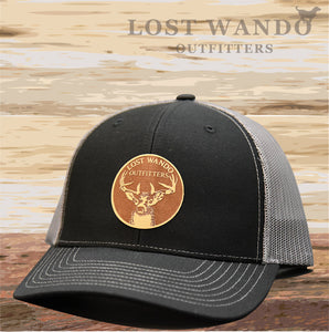 Buck Black-Charcoal Lost Wando Outfitters - Lost Wando Outfitters