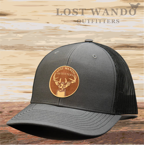 Buck Charcoal-Black Lost Wando Outfitters - Lost Wando Outfitters