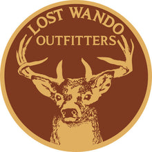 Load image into Gallery viewer, Buck Heather Green-Light Grey Leather Patch Hat Lost Wando Outfitters - Lost Wando Outfitters