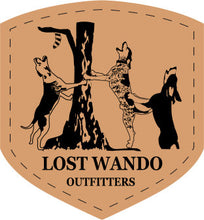 Load image into Gallery viewer, Coon Dogs Camo-Black Leather Patch Richardson 112 Hat Lost Wando Outfitters - Lost Wando Outfitters