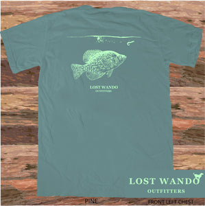 Lost Wando Crappie Short Sleeve T-shirt