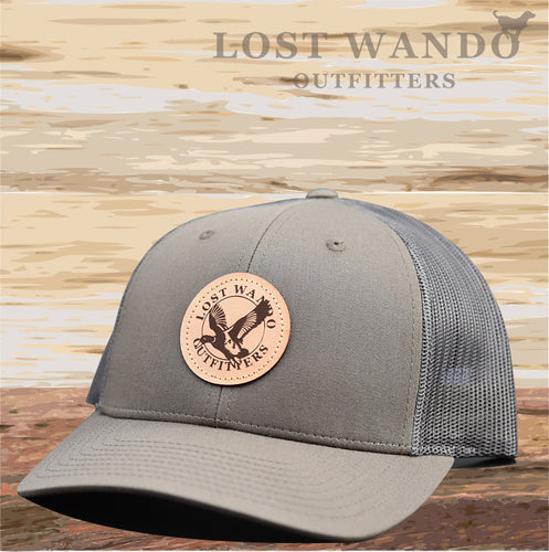 Mallard Chocolate Chip-Grey Brown Hat Lost Wando Outfitters - Lost Wando Outfitters