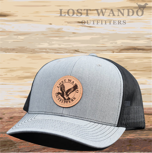 Mallard Heather Grey-Black Hat Lost Wando Outfitters - Lost Wando Outfitters