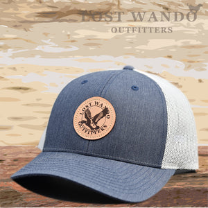 Mallard Heather Navy-Light Grey Hat Lost Wando Outfitters - Lost Wando Outfitters