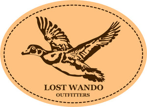Wood Duck Brown-Khaki Leather Patch Richardson 112 Hat Lost Wando Outfitters - Lost Wando Outfitters