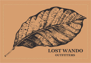 Tobacco Leaf Leather Patch Hat -Heather Navy-Light Grey - Lost Wando Outfitters