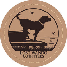 Load image into Gallery viewer, Wando Ready to Go Columbia Blue-Khaki Leather Patch Hat Lost Wando Outfitters - Lost Wando Outfitters