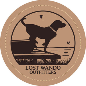 Wando Ready to Go Columbia Blue-Khaki Leather Patch Hat Lost Wando Outfitters - Lost Wando Outfitters