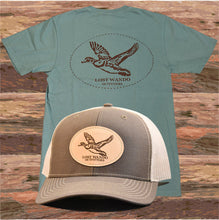 Load image into Gallery viewer, Lost Wando Wood Duck Short Sleeve Pine T-shirt - Lost Wando Outfitters