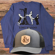 Load image into Gallery viewer, Lost Wando Coon Hounds Long Sleeve Navy T-shirt - Lost Wando Outfitters