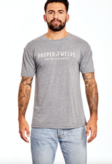 Proper No. Twelve T-Shirt - Gray