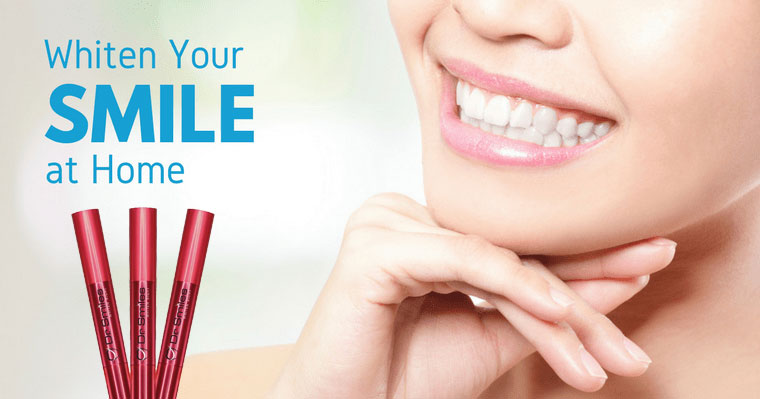 On-the-go teeth whitening or in the dentist's office?