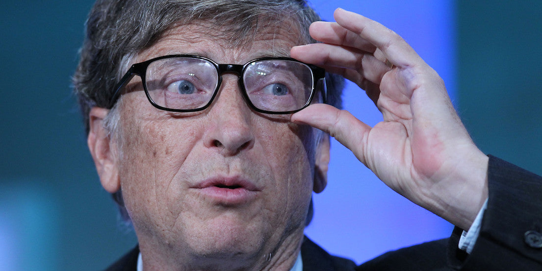Bill Gates Silver Lining Glasses