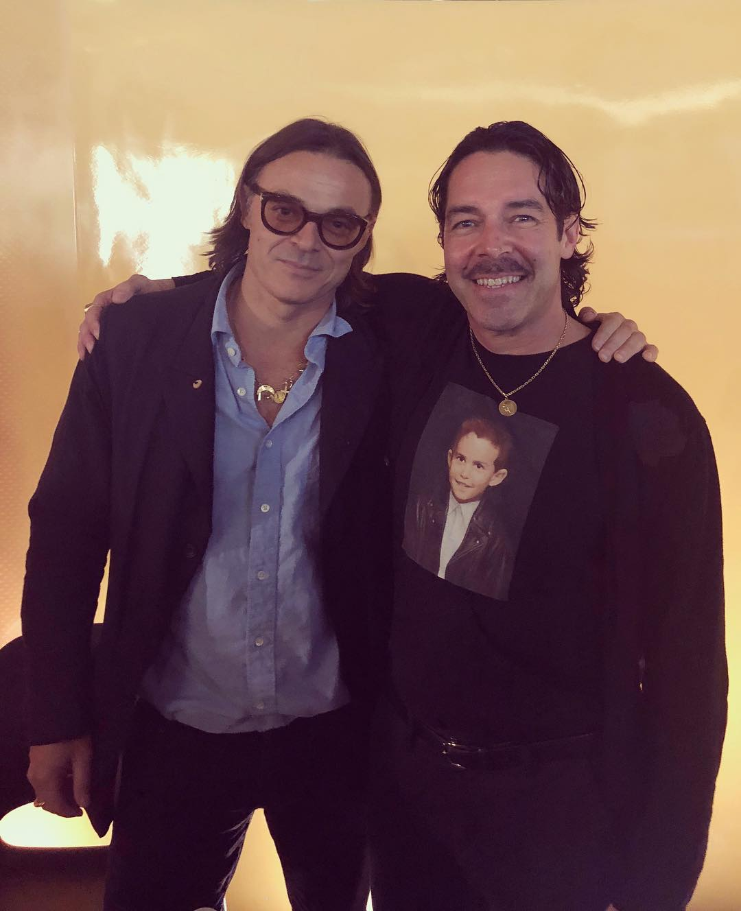 Mario Sorrenti and Erik Sacher