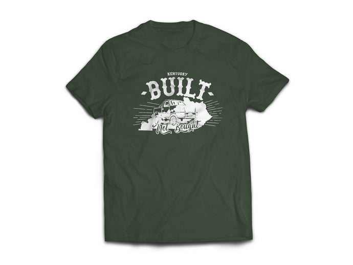 Kentucky Built Not Bought Truck Tee
