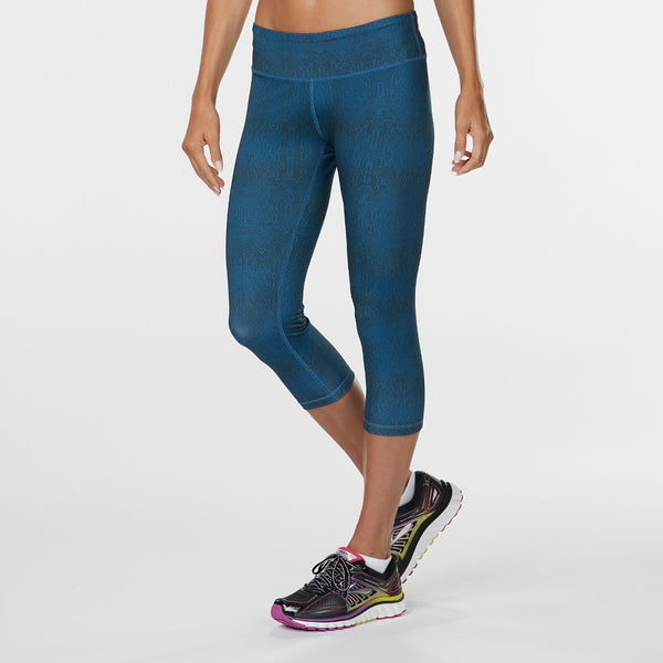 "WOMEN'S R-GEAR LEG UP PRINTED 19"" CAPRI LEGGING"