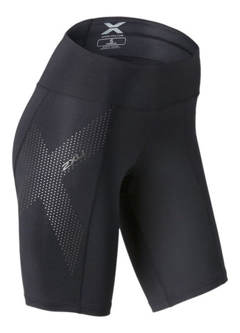 WOMEN'S 2XU MID-RISE COMPRESSION SHORTS