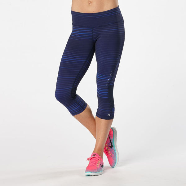 WOMEN'S R-GEAR RECHARGE COMPRESSION PRINTED CAPRI