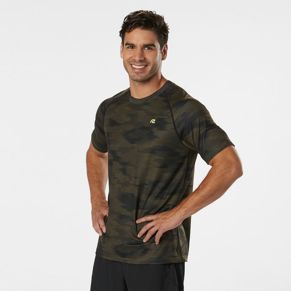 MEN'S R-GEAR TRAINING DAY PRINTED SHORT SLEEVE