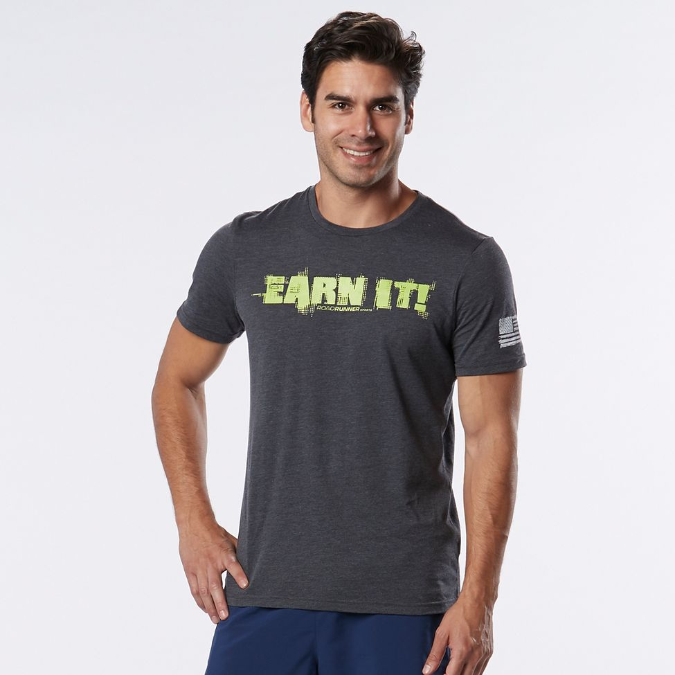 MEN'S R-GEAR EARN IT GRAPHIC TEE