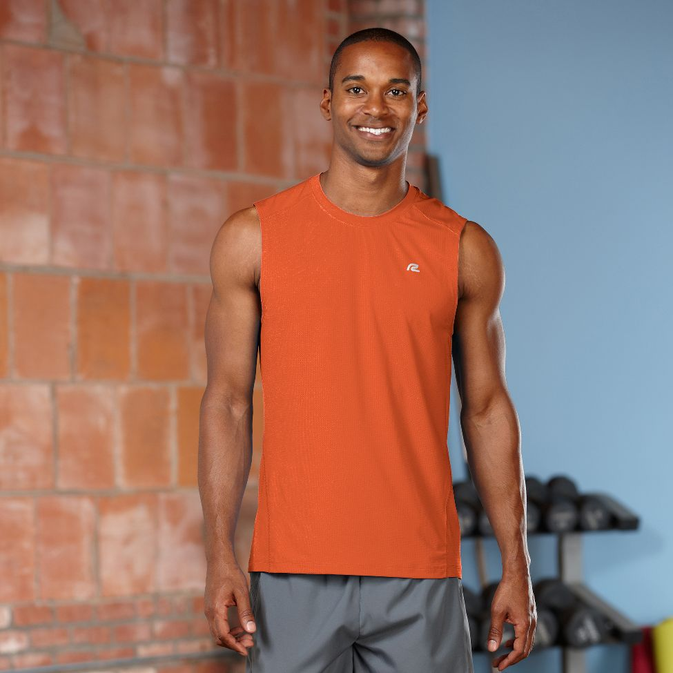 MEN'S R-GEAR RUNNER'S HIGH SLEEVELESS