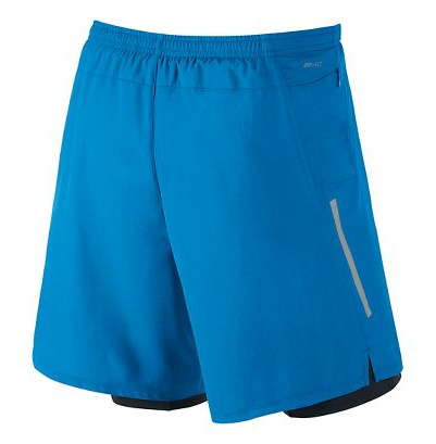 "MEN'S NIKE PHENOM 2-IN-1 7"" SHORT"