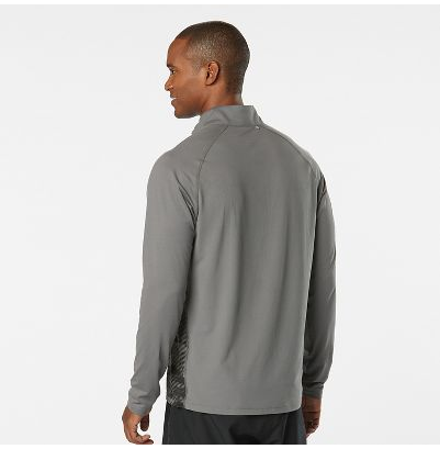 MEN'S R-GEAR IN THE ZONE PRINTED HALF-ZIP