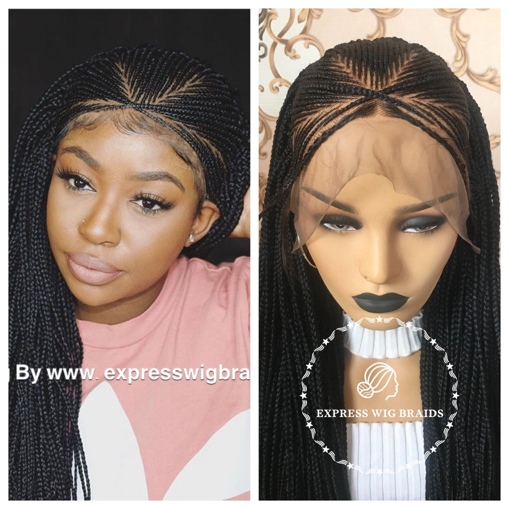 Why braided wigs are called protective styles