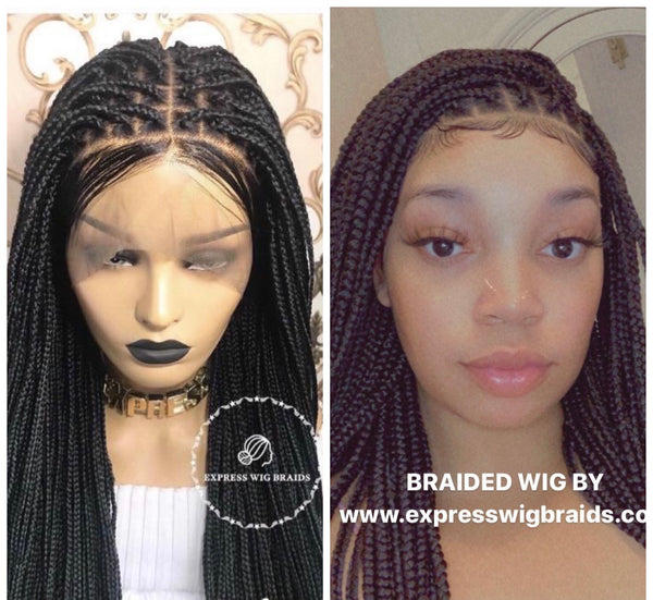 BOX BRAID WIGS