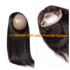 360 lace hair round unit for express wig braids