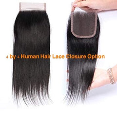 4 by 4 (4*4) lace hair closure by express wig braids
